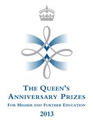 Queen's Anniversary Prize 2013