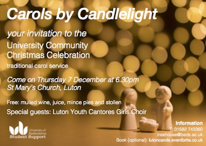Carols by Candlelight in Luton