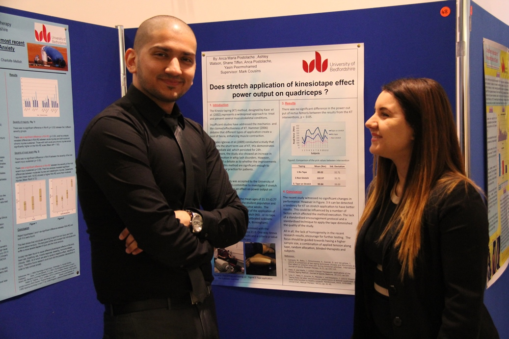 Poster Presentation by the Faculty of Health and Social Sciences