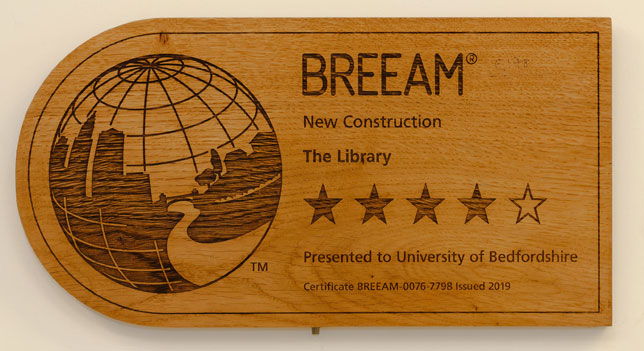 BREEAM Award for Construction